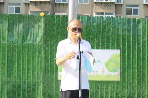 """济南传媒学校积极开展""""我们的节日·端午""""主题升旗仪式"""