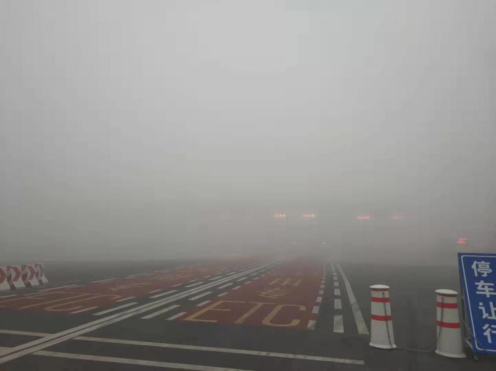 山东将大雾红色预警降为黄色预警 11市仍有浓雾