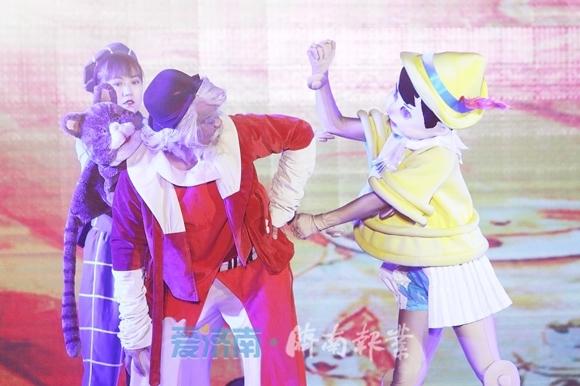 济南东部首家专业儿童剧场迎来首演 快和匹诺曹一起冒险吧!