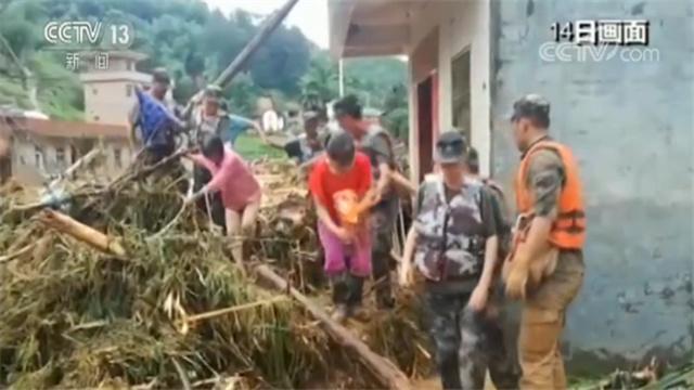 村庄被冲毁严重!危急时刻337名受困群众被顺利转移至安置点