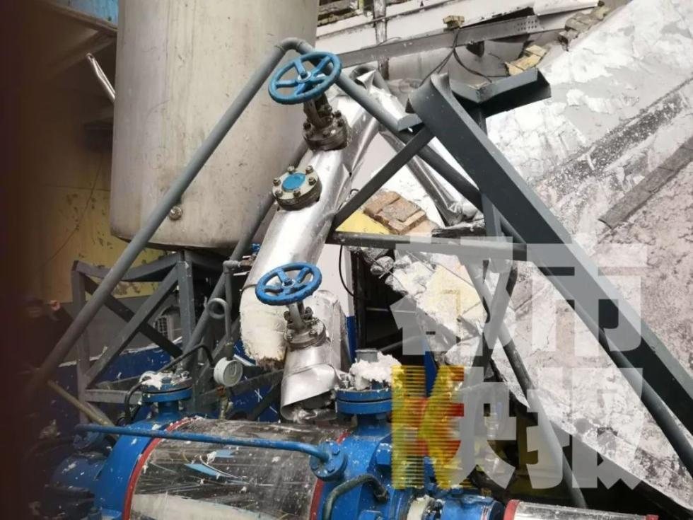 陕西渭南一硫酸厂产生爆炸 致1死3伤!