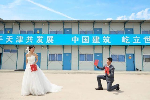 """上新闻联播告白的小伙要结婚了 最有""""排面""""的求婚"""