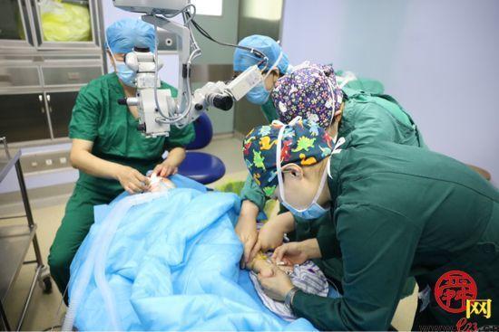 济南市二院开展微导管引导的360度粘小管切开术为先天性青光眼患者带来福音