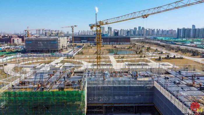济南市连续3年蝉联全省建筑业5强
