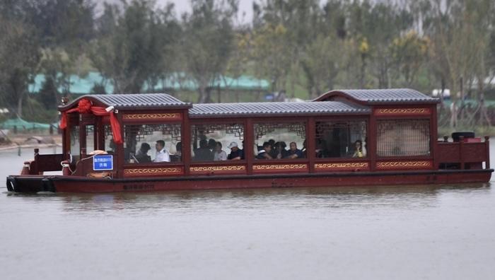 华山湖游船正式通航,景区迈入建设与运营同步推进阶段