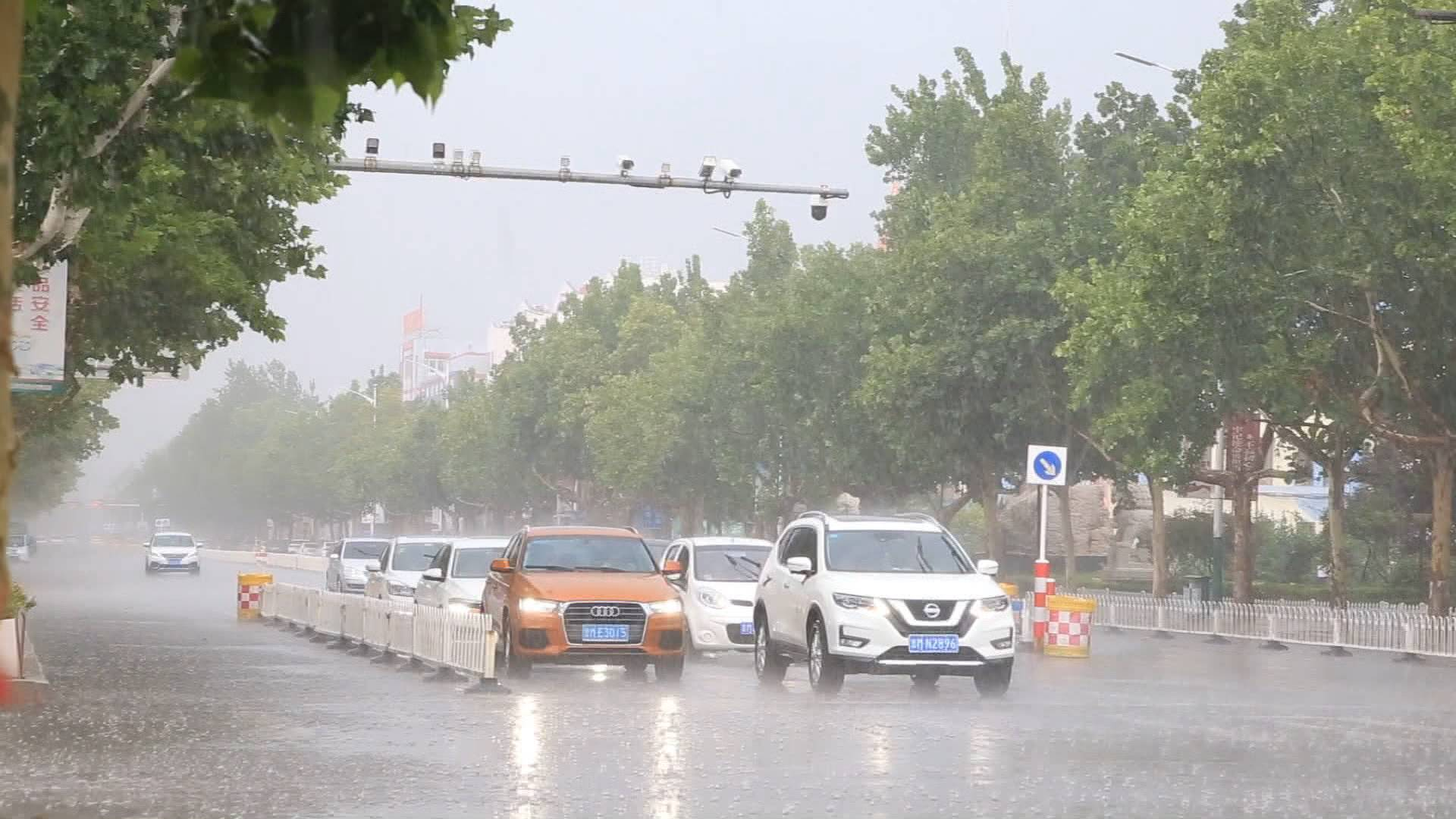 济南西营降下151.9毫米大暴雨!山东这3市普降暴雨,今年以来降水偏多18%