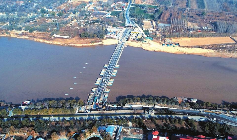 济南拟调整泺口、东城、东郊、济北四座浮桥渡运价格 三轮车摩托车将免费