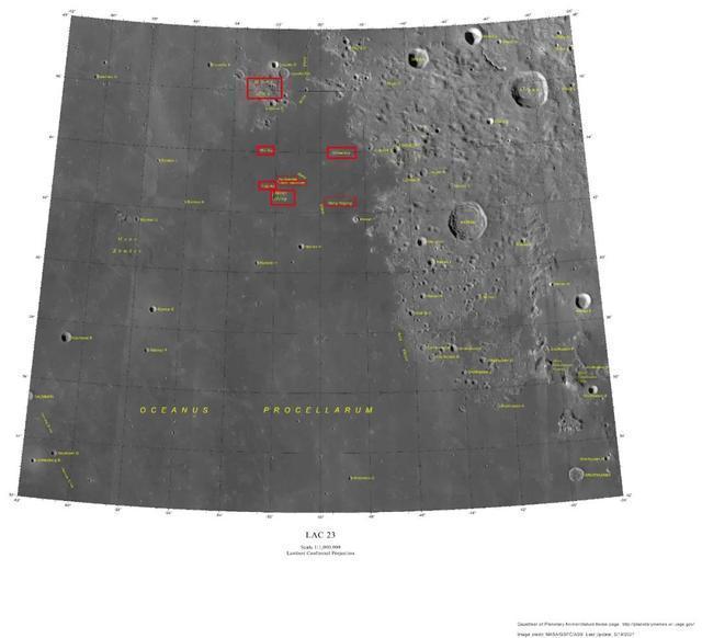 月球上新增8個中國地名,具體都有哪些?