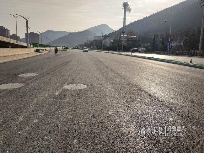 济南怪坡路段改造收尾,非机动车...