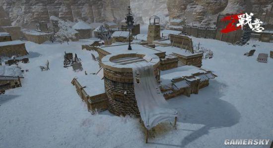 《战意》新意玩法登场 大雪纷飞 激情夺旗