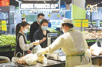 武汉——超市对居民有序开放