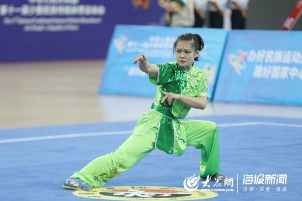 全国民族运动会赛程过半 山东团四人斩获7个奖项