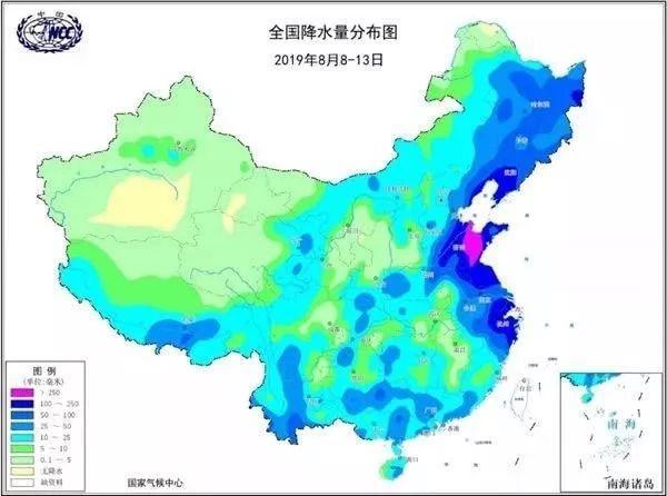 台风利奇马成风王 利奇马风雨强度58年来最大 回顾台风利奇马实时路径