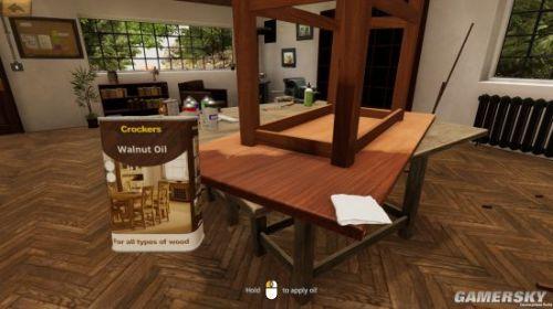 《木工模拟器》上架Steam 官方称能完全自由制作木制品