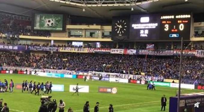 足协杯决赛次回合:上海申花3