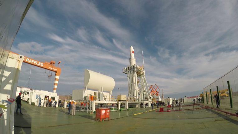 中国航天完成首次海上发射!这一次,海天相接