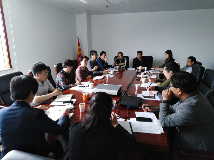齐心协力!济南市钢城区召开迎审培训会