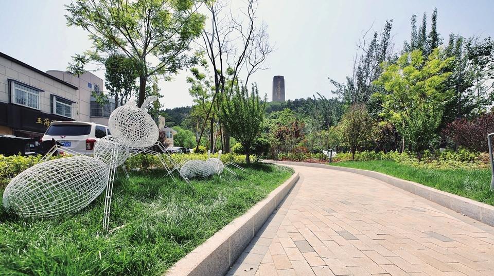 蝶变新生街心花园扮靓生活
