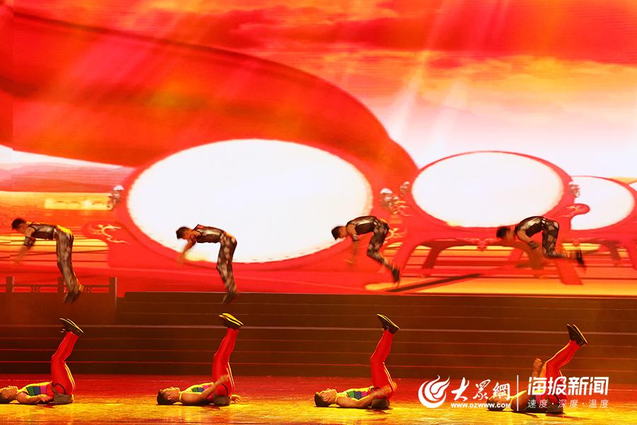 """山东为国际友城代表团上演""""视听盛宴"""":杂技、舞蹈、交响乐、弹拨乐……"""