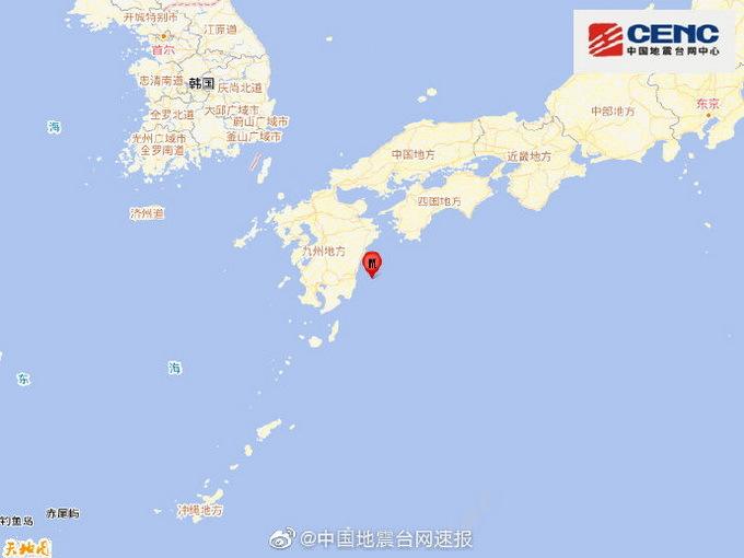 日本九州岛附近海域发生5.7级地震 遇到地震该怎么办?