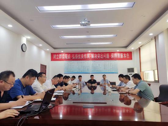 天桥区委常委、统战部部长尹少华到药山街道调研工作