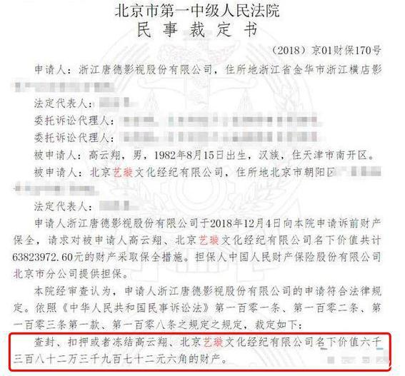 """曝董璇高云翔离婚 """"视频离婚""""实为保住财产?终于真相了"""