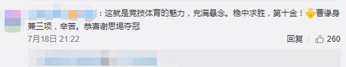 惊险逆转!谢思埸获中国跳水队第10金 对手巨大失误将金牌