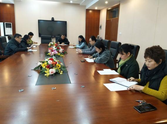 济南舜耕中学召开工会委员会议安排部署新学期工作