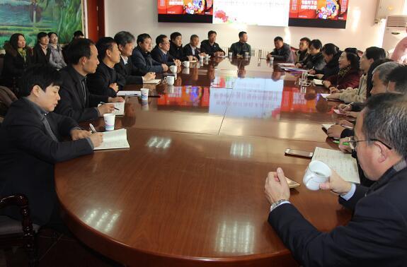 青岛经济技术开发区职业中专到济南三职专交流工作
