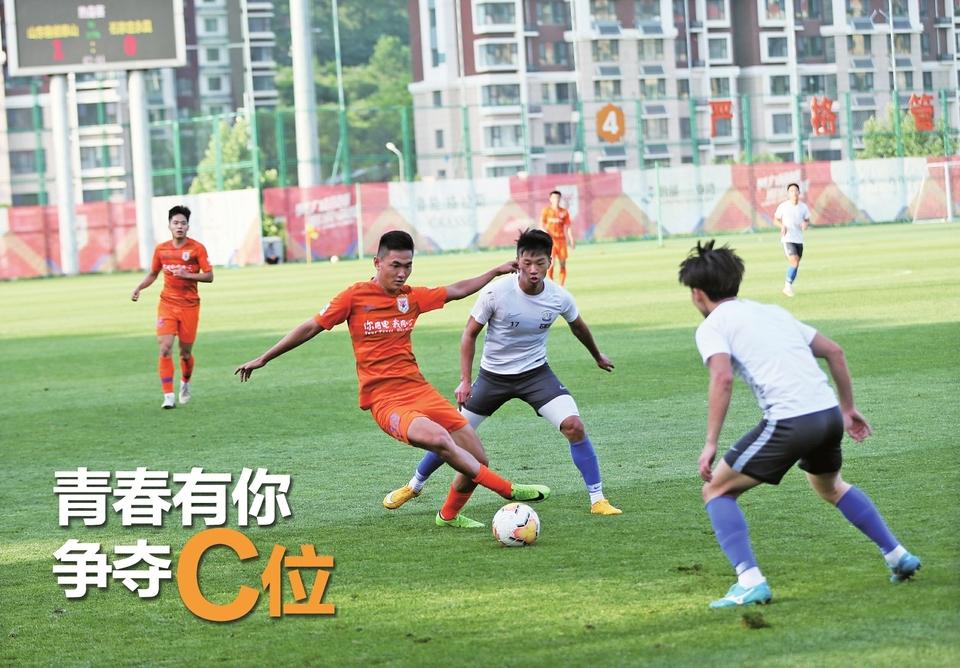 热身赛鲁能完胜永昌年轻球员表现出彩 青春有你争夺C位
