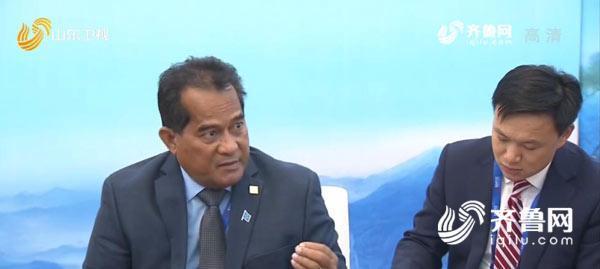 【深化合作 共谋发展】出席山东国际友城合作发展大会的省州长接受山东台记者专访