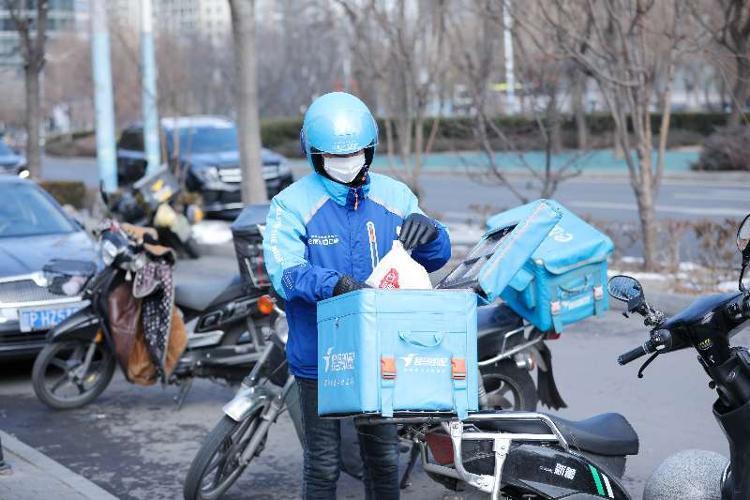 疫情下的爱情:济南近期有7300多份外卖是点给另一半的