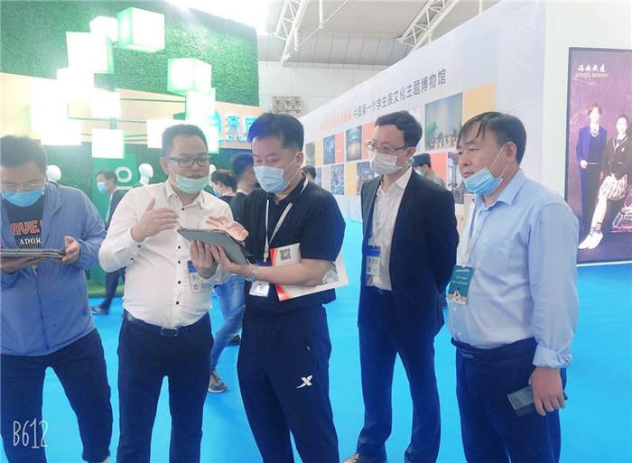 济南高新区海川教育集团参加山东省教育装备应用创新案例展