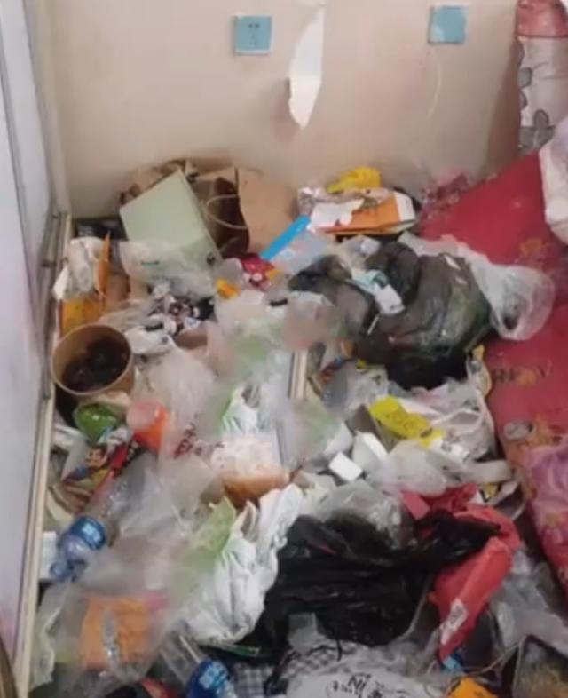 黑龙江女租客屋内垃圾成山 房东气炸称老鼠进屋都要开导航