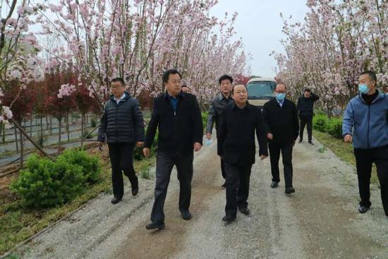 章丘人大助力都市农业走进春天里