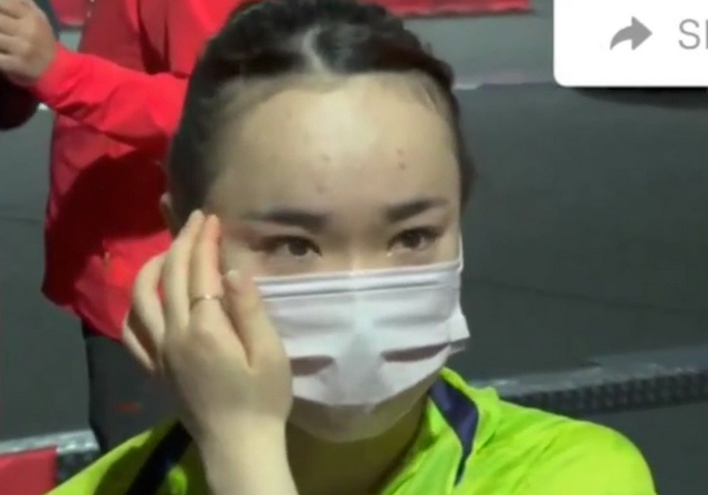 """打哭伊藤!粉碎对手""""全取三金""""梦想,孙颖莎:过瘾"""