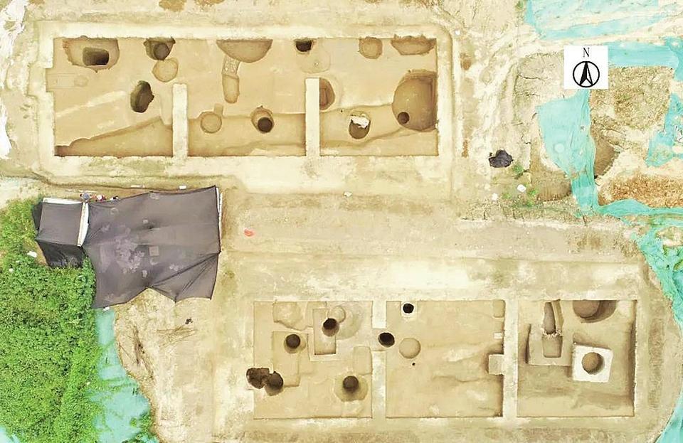 裴家营西北遗址:从商代一直延续到明清 为研究济南地区商代聚落提供重要证据