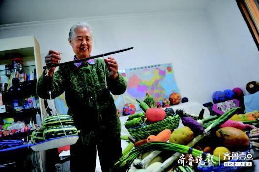 针线缝出多彩人生,济南这位退休工人的手艺令人称奇
