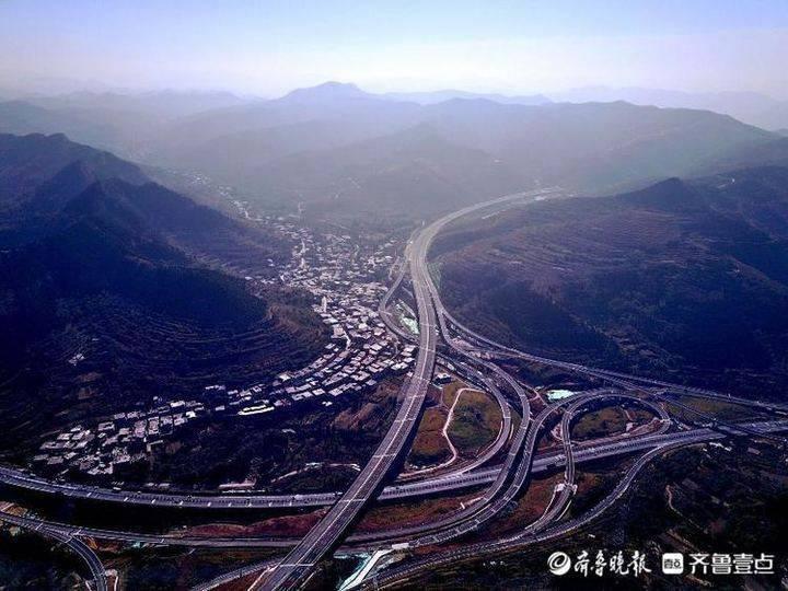 济泰高速27日通车!最美山水间的高速公路先睹为快