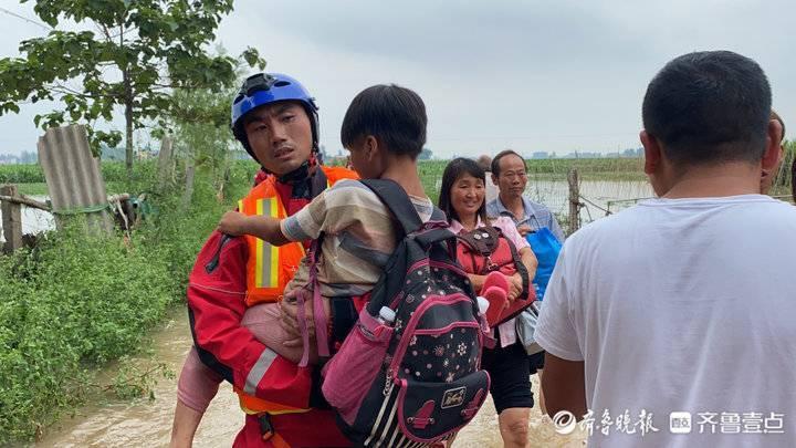 开封尉氏县救援最近进展!山东消防累计营救转移群众238人