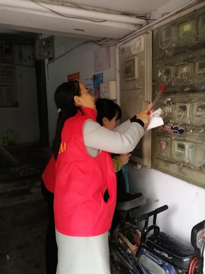 济南艺术学校志愿服务队走进舜园社区