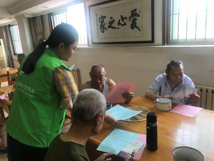 济南市疾控中心团委连续9年赴济南市社会福利院开展志愿服务活动