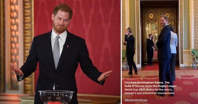 去意已決?哈里王子發布活動視頻 英媒聽到配樂后炸鍋