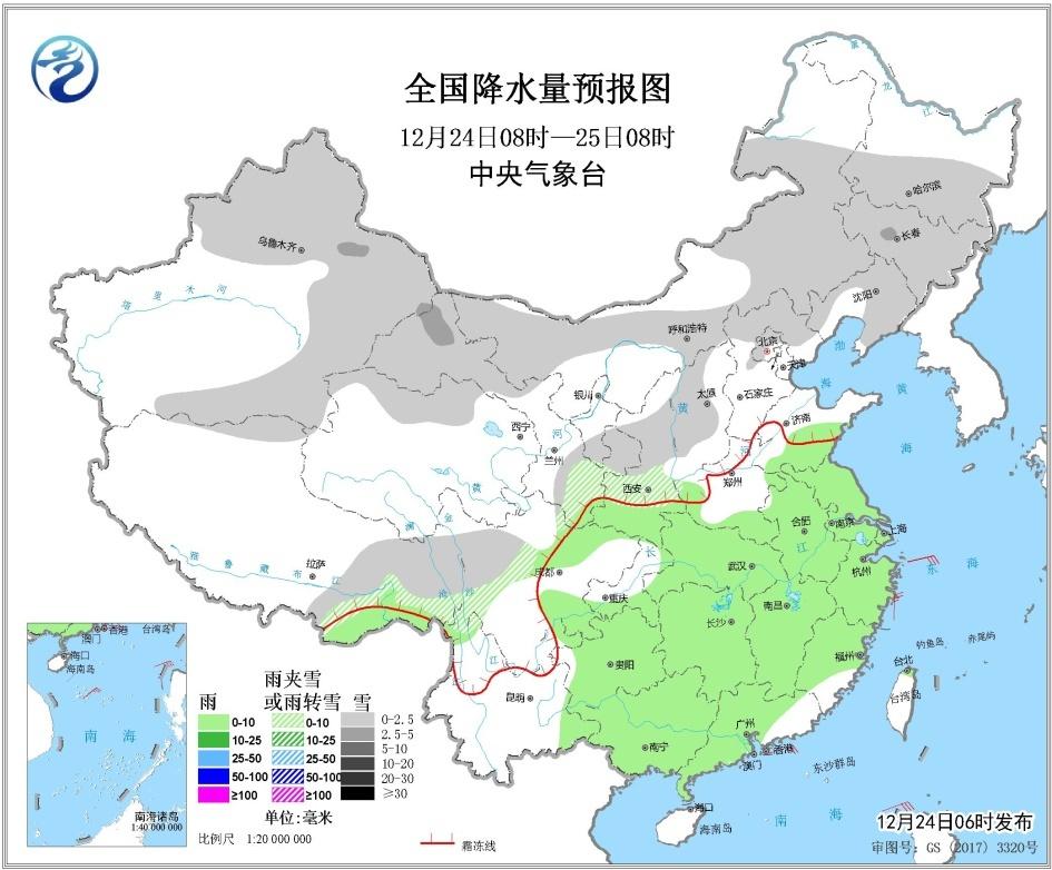 冷空气将影响中东部 驱散华北黄淮雾霾 结束南方连阴雨