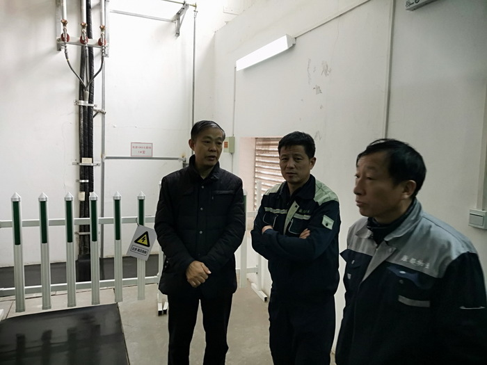 济南回民中学进行冬季安全检查