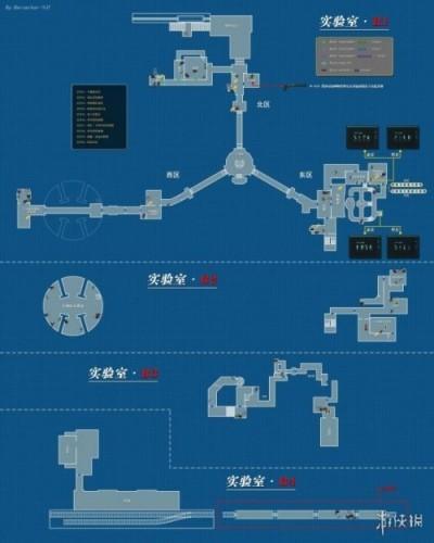 生化求助紧急2重制版全地图全场景图片汇总  警局地图道具因素一览