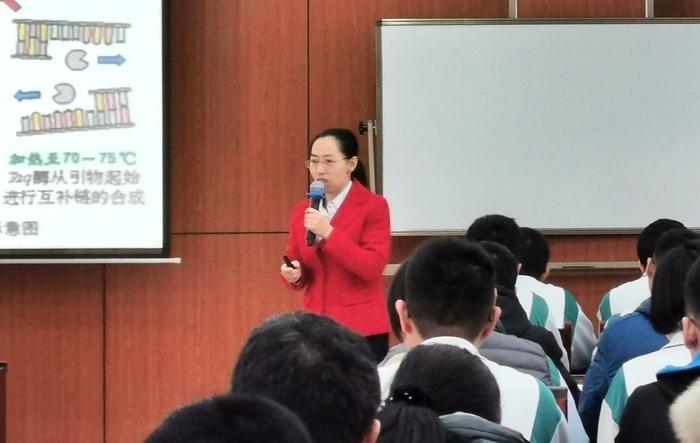 """济南市高中生物学科第六次""""面对面""""培训在济钢高中举行"""