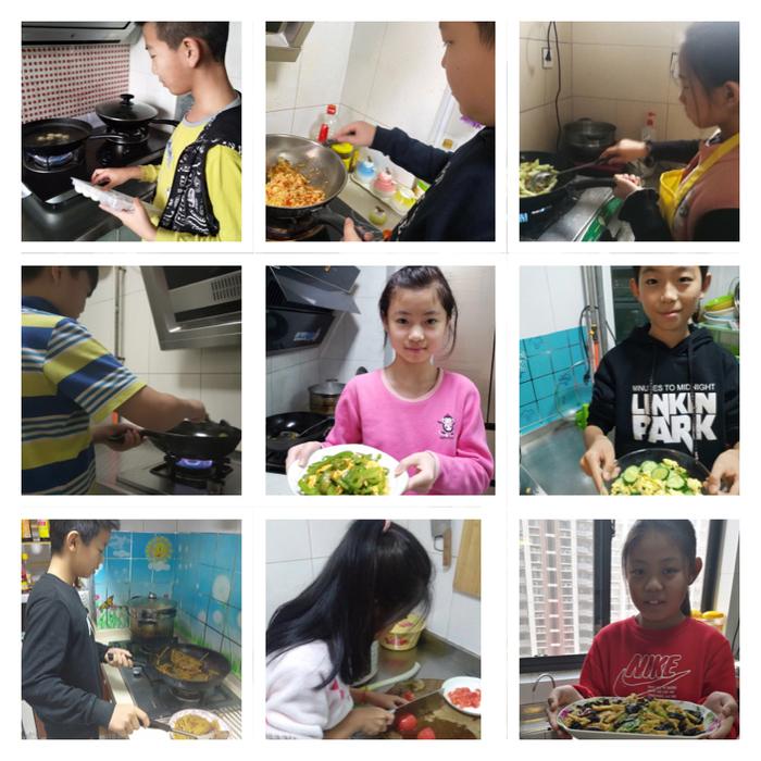 """济南高新区第二实验学校""""厨房小达人""""上线"""
