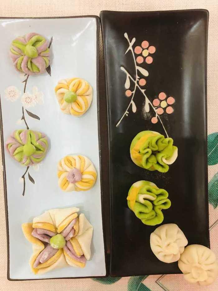 槐荫区演马佳苑幼儿园开展厨艺面点评比活动