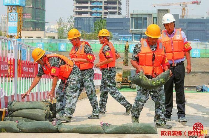 未雨绸缪,防患未然,济南部署建筑施工企业开展防汛应急演练